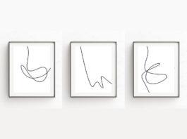 Минималистичные принты от Oju Design
