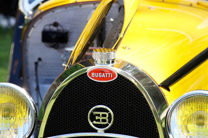 Vintage Bugatti at the 2017 Concours d'Elegance