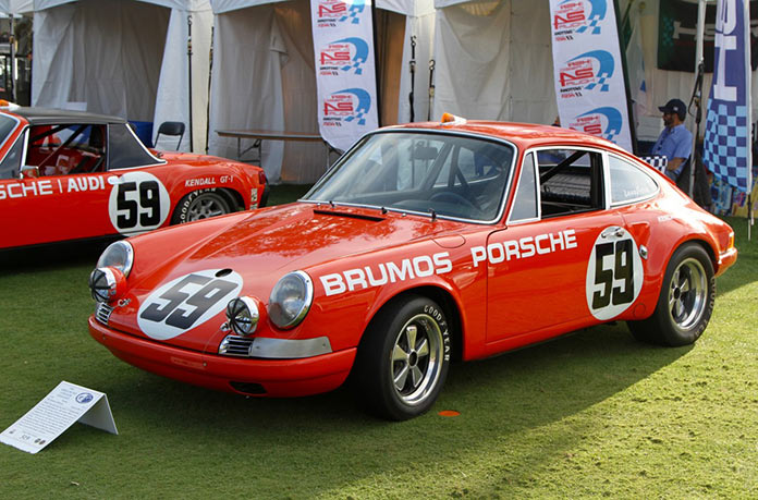An early competition Porsche 911 from the Brumos collection