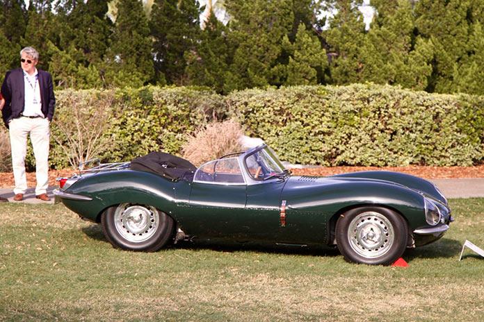 "1957 Jaguar XKSS, aka the ""Green Rat"""
