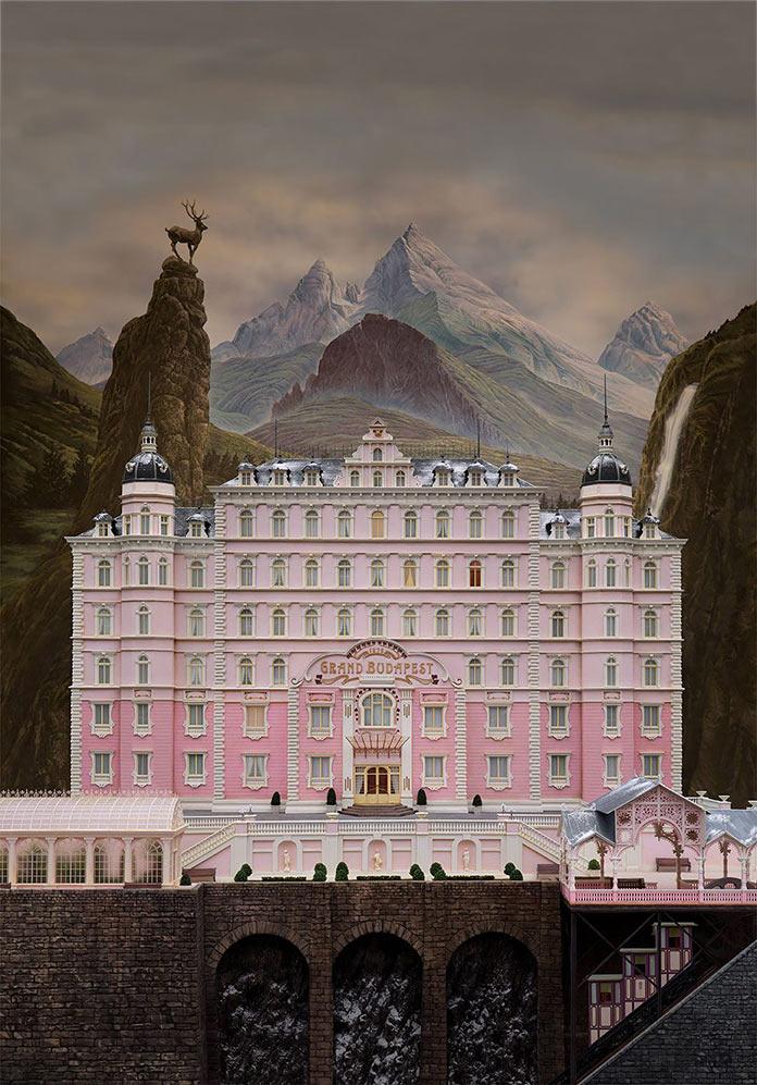 Отель «Гранд Будапешт», 2014, кинопостер без текста