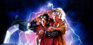 Назад в будущее II, 1989, кинопостер без текста