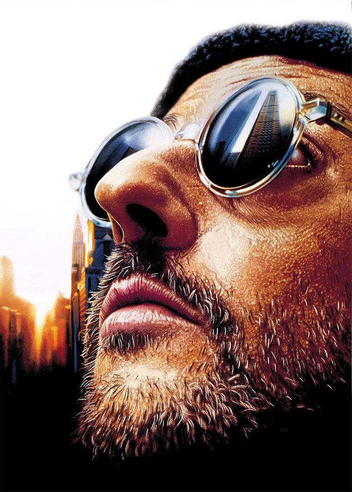 Леон, 1994, кинопостер без текста