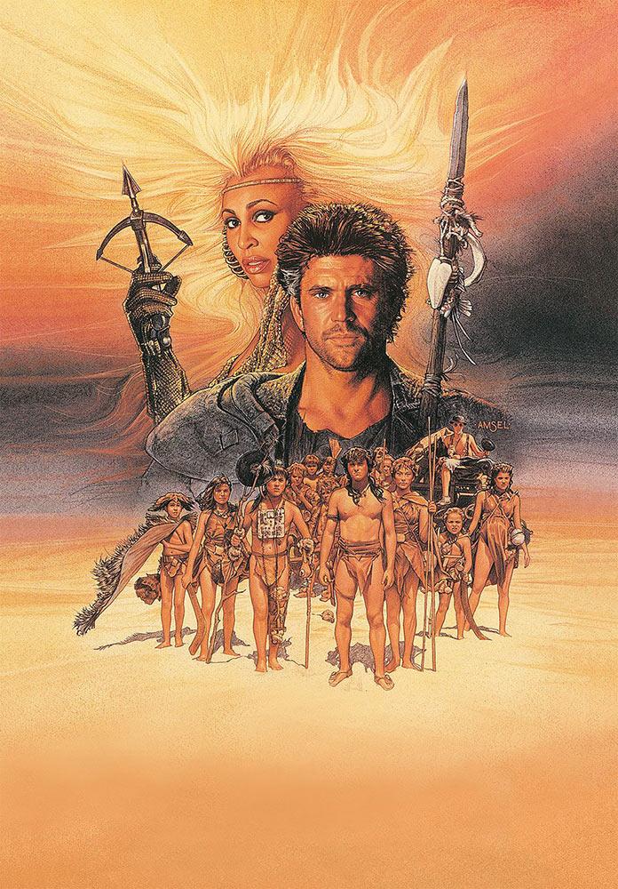 Безумный Макс 3: Под куполом грома, 1985, кинопостер без текста