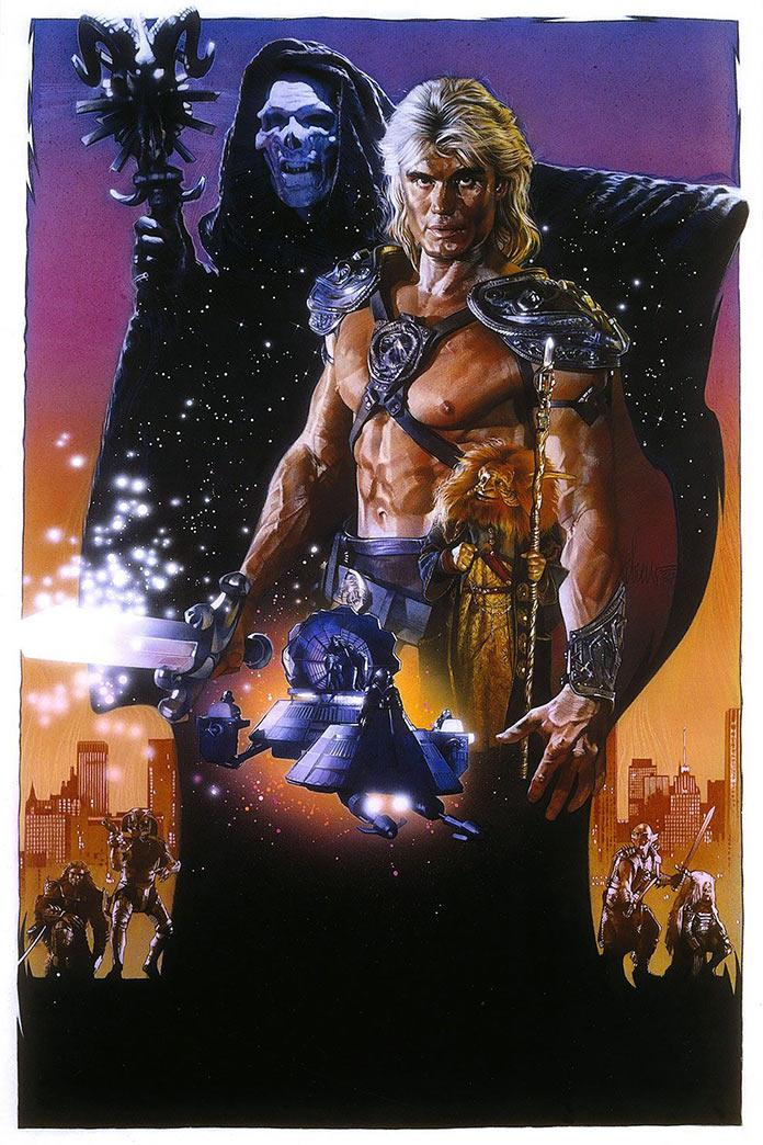 Властелины вселенной, 1987, кинопостер без текста