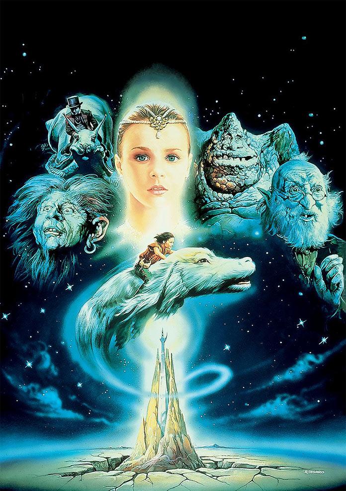 Бесконечная история, 1984, кинопостер без текста