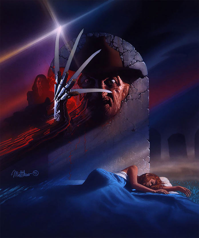 Кошмар на улице Вязов: Фредди мертв, 1991, кинопостер без текста