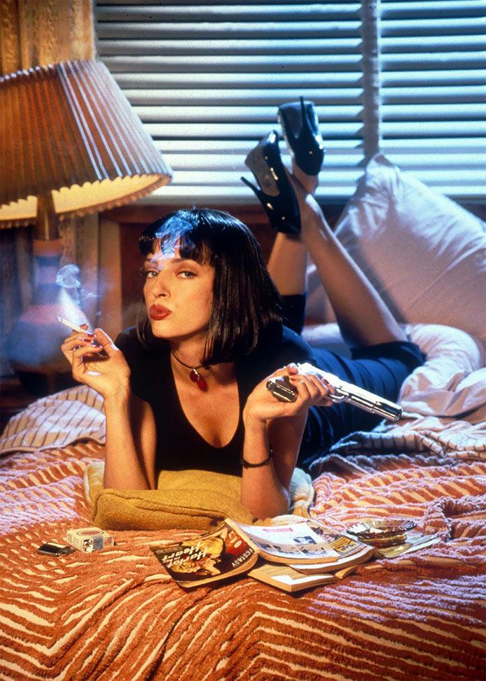 Криминальное чтиво, 1994, кинопостер без текста