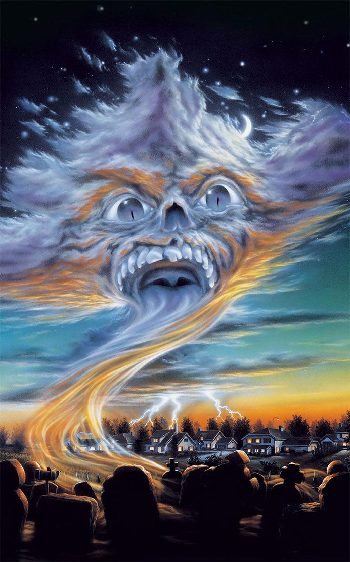 Возвращение живых мертвецов 2, 1987, кинопостер без текста