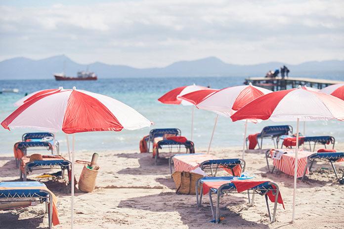 Пляж на испанском побережье, Майорка