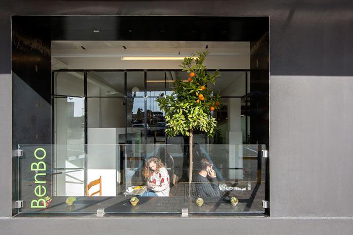 Дизайн фасада. Капсульный отель Bed&Boarding в аэропорту Неаполя