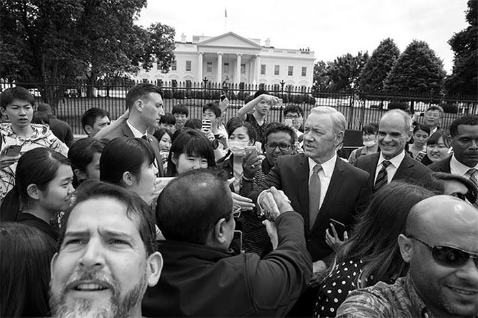 Президент «Карточного домика» Фрэнк Андервуд в объективе Пита Соуза