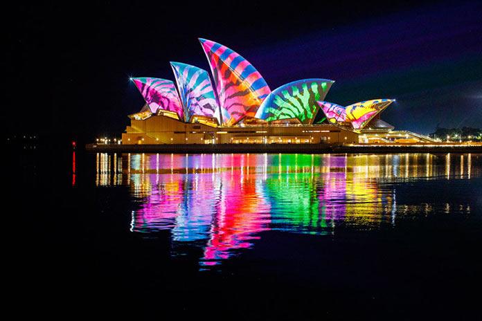 Vivid-2017 — Инсталляции и проекции международного фестиваля света в Сиднее