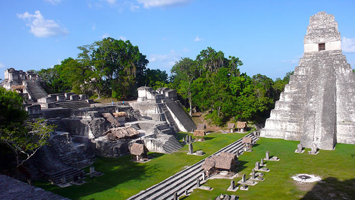 Гватемала, архитектура Майя