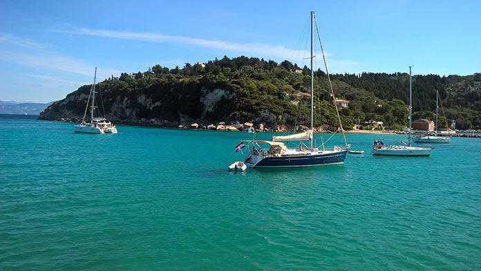 Греция, море, яхты
