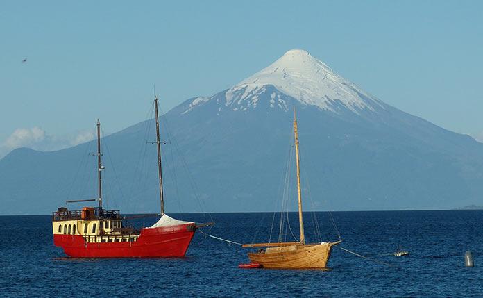 Чили, море