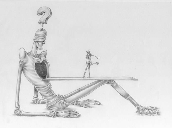 Женское безразличие и жестокость в современном обществе. Аль Мархин