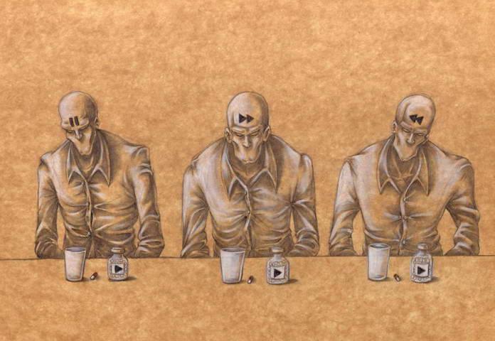 Современное общество в иллюстрациях Аль Мархин