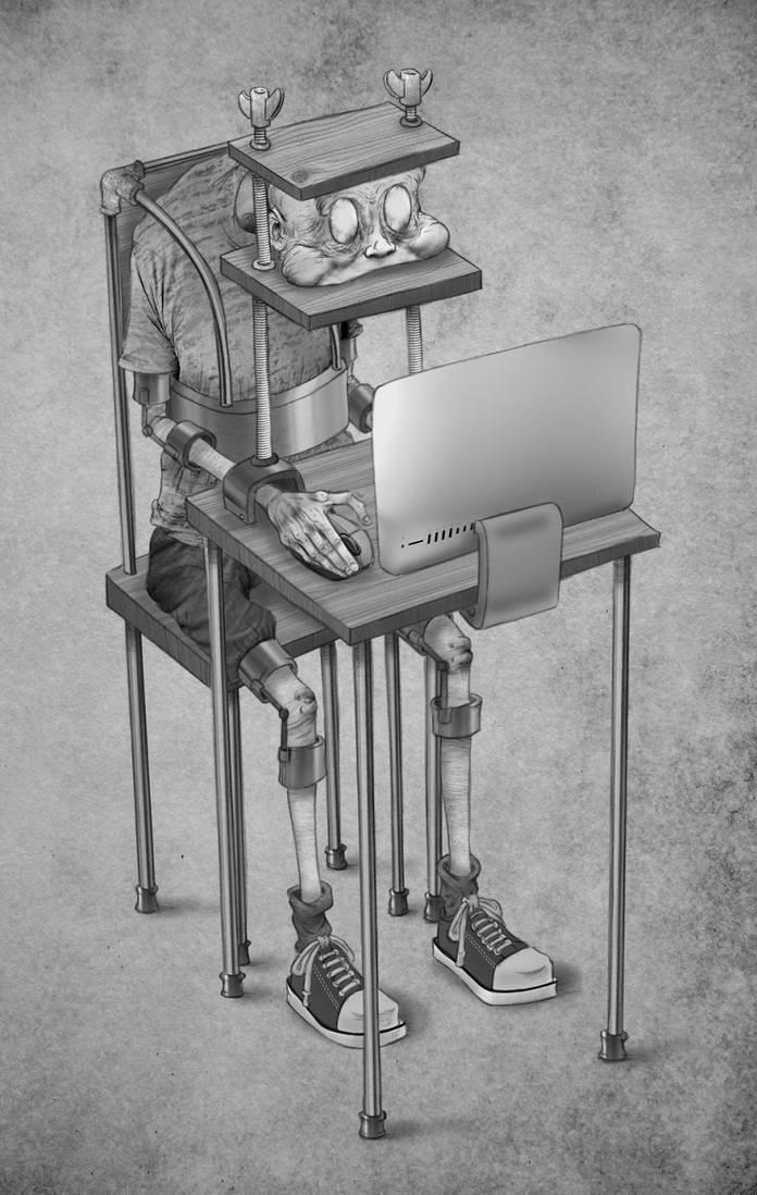Цифровая тюрьма