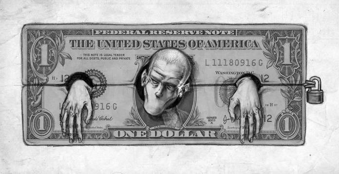 Денежное рабство в современном обществе