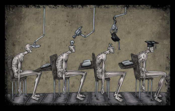 Зомбирование через образование