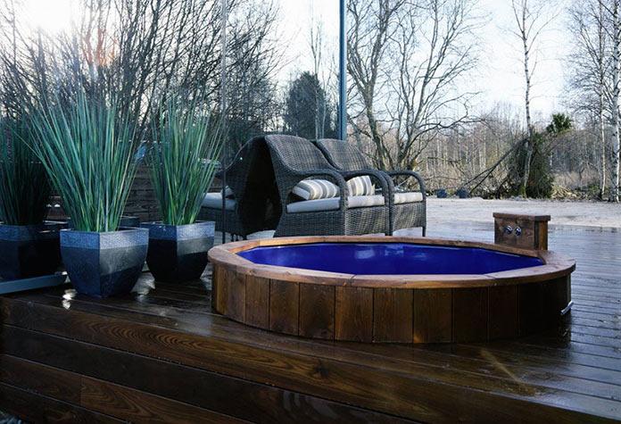 Гидромассажная ванна. Модульный мини-дом ÖÖD