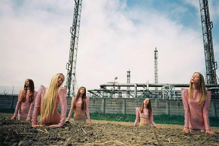 Михаль Пуделка, девушки, арт-фото
