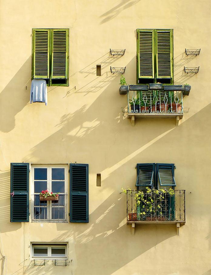 Утро в Лукке, Италия