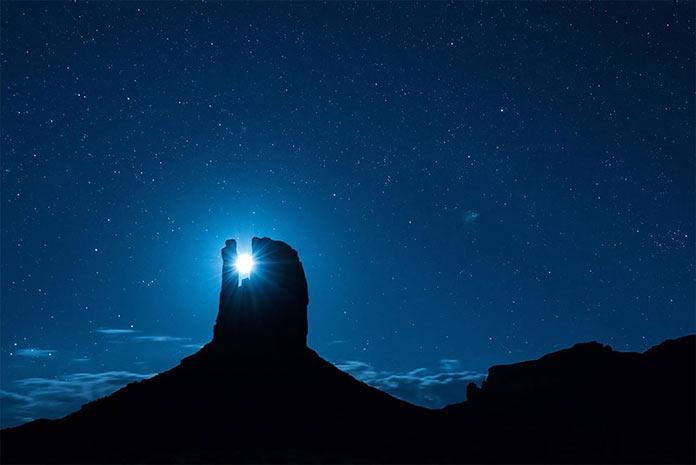 Долина монументов в парке Навахо, Аризона