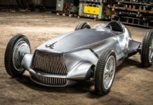 Infiniti Retro-Inspired Electric Racing Car