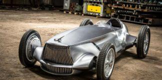 Infiniti Retro-Inspired Electric Racing Car
