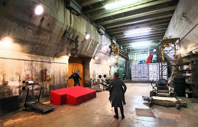 Subterra Airbnb мини-отель из подземной ракетной базы времен холодной войны