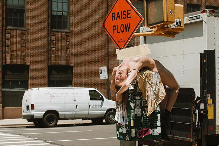 «Fucking New York». Provocative fashion photography by Nikola Tamindzic