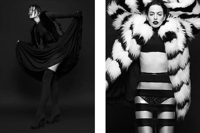 Fashion photography by Nikola Tamindzic