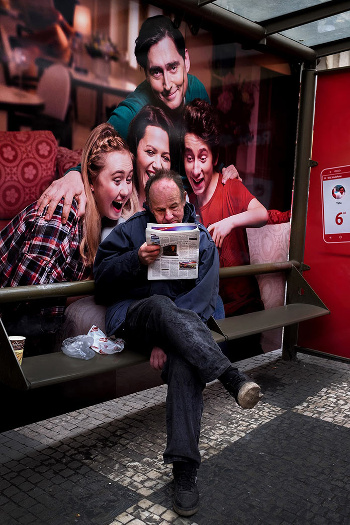 Newspaper… © Martin Schubert, Czech Republic, Entry, Open, Street Photography (Open competition), 2018 Sony World Photography Awards