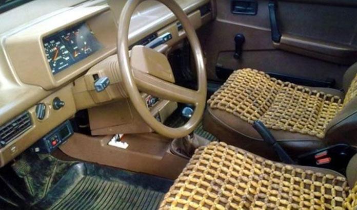 Тюнинг автомобилей в СССР. Моддинг сидений