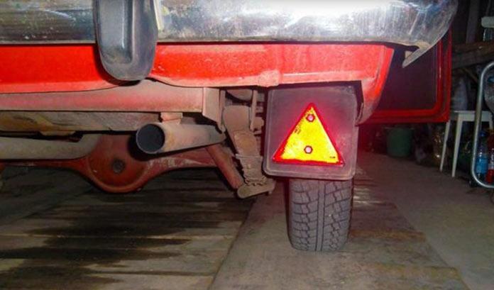Тюнинг автомобилей в СССР. Моддинг брызговика