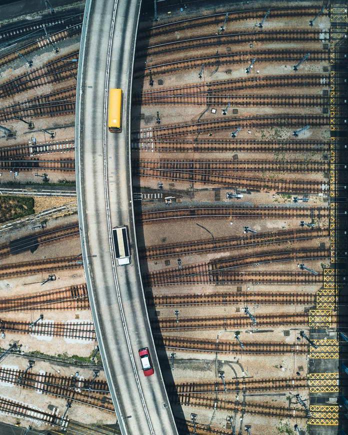 Гонконг, Китай, железная дорога, урбанизация