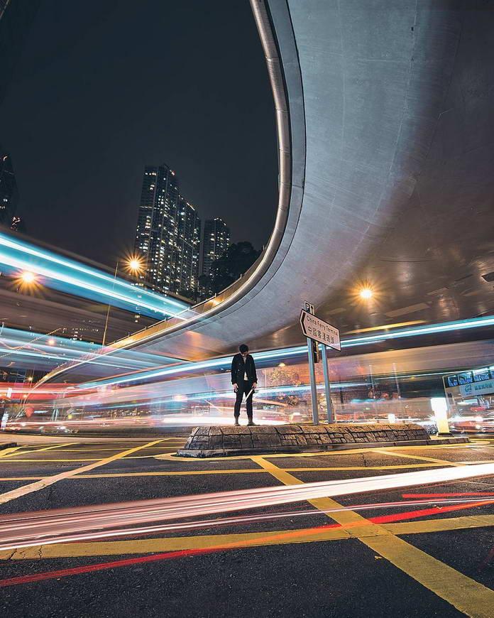 Дорожный трафик, Гонконг, Китай