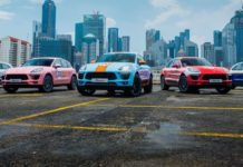 A Collection of Porsche Macan in Iconic Racing Liveries, Singapore 2017