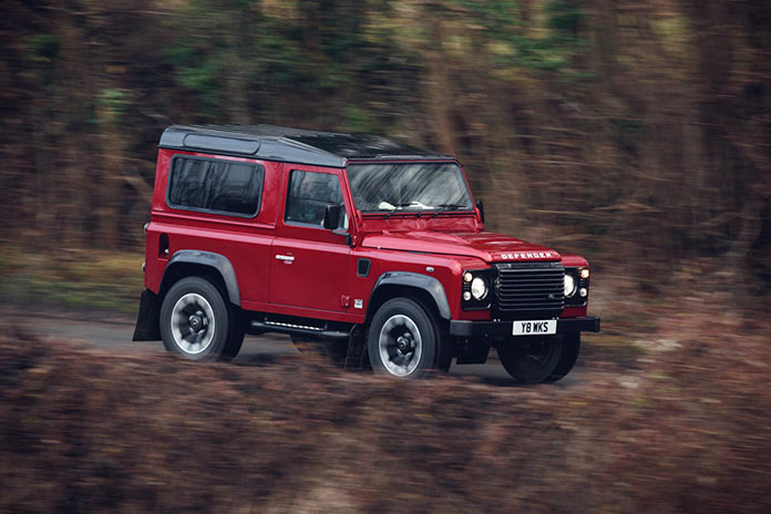 Land Rover Defender 70th Anniversary Limited Edition