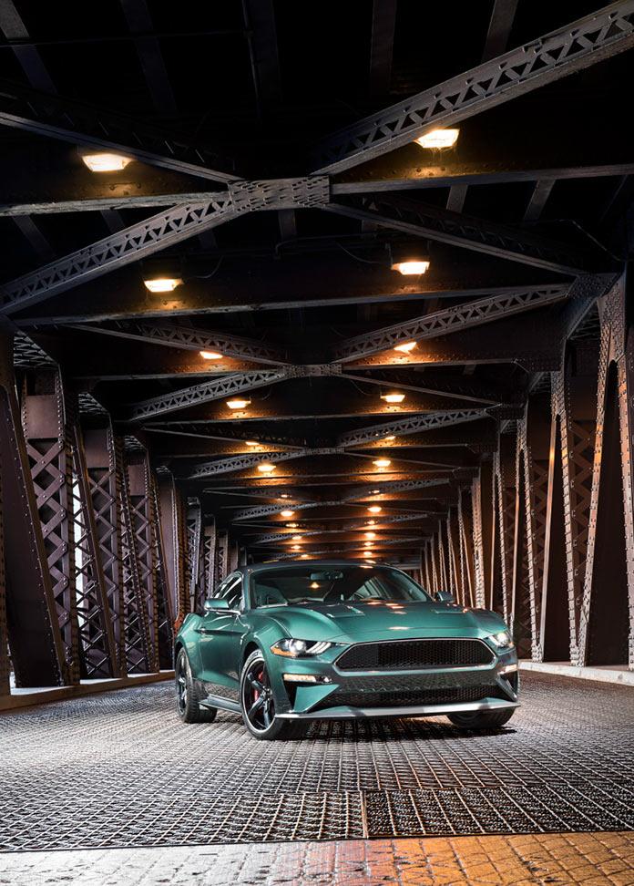 Специальная версия Ford Mustang Bullitt модельного ряда 2019 года