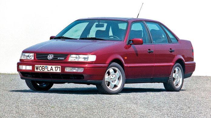 Самые популярные авто в России 1990-х. Volkswagen Passat B3/B4 1996 года