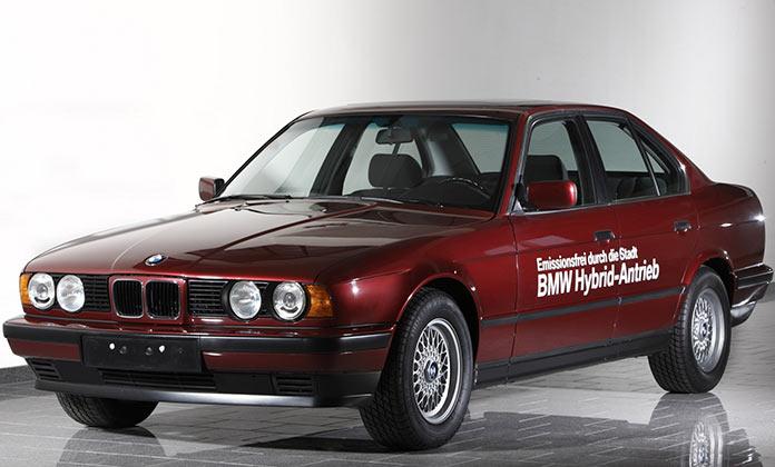 Самые популярные авто в России 1990-х. BMW 5-Series 1994 года