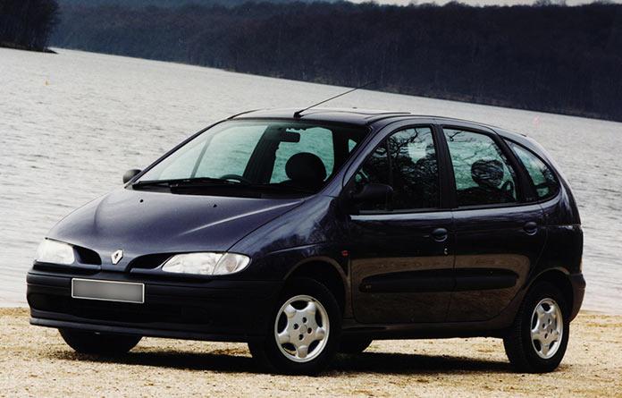 Самые популярные авто в России 1990-х. Renault Scenic 1997 года