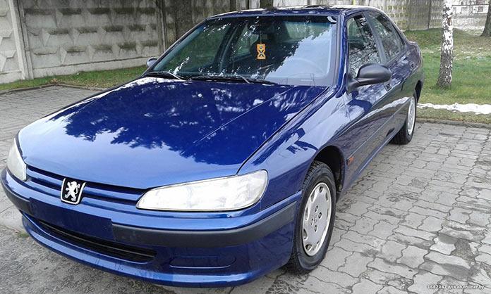 Самые популярные авто в России 1990-х. Peugeot 406 1998 года