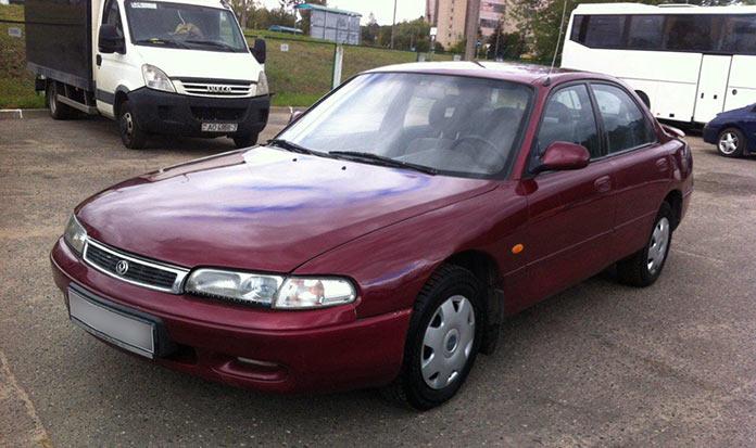 Самые популярные авто в России 1990-х. Mazda 626 1995 года