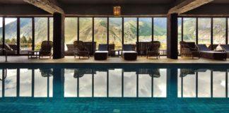 Rooms Hotel Kazbegi in Caucasus Mountains of Geogia