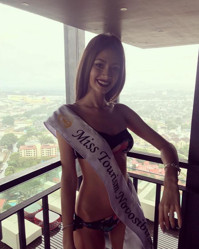 Дарья Хохлова - «Мисс бикини мира» из России