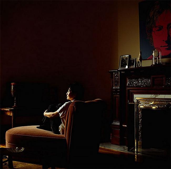 Йоко Оно. Старые фото артистов и певцов из 1980-х
